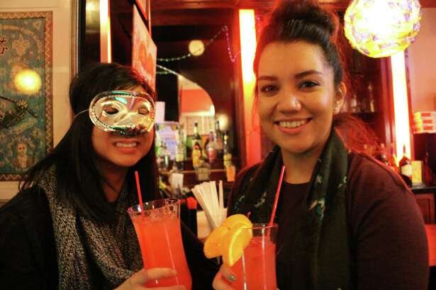 Were you SEEN celebrating Mardi Gras at Two Boots in Bridgeport on February 9, 2016?