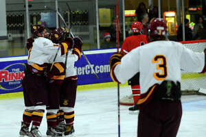 St. Joseph blanks Greenwich in boys hockey - Photo