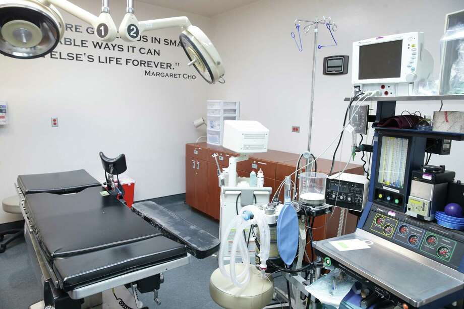 Equipment in a clinical room is shown as the Whole Women's Health of San Antonio hosts a rally to support the abortion clinic on the east side leading up to the March Supreme Court ruling concerning recent abortion clinic rulings on February 9, 2016. Photo: TOM REEL, STAFF / SAN ANTONIO EXPRESS-NEWS / 2016 SAN ANTONIO EXPRESS-NEWS