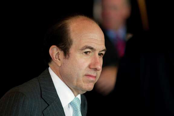 FILE - In this Wednesday, June 13, 2012, file photo, Viacom Inc. CEO Philippe Dauman waits for the start of an event in Washington. Dauman defended himself in a testy exchange with analysts during a quarterly earnings conference call, Tuesday, Feb. 9, 2016, in which the media company behind MTV and Paramount Pictures missed revenue expectations for the fifth quarter in a row. (AP Photo/Evan Vucci, File)