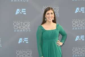 Mayim Bialik backs Susan Sarandon by flashing her breasts on TV - Photo
