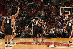 Postgame Wrap: Spurs beat Heat; Aldridge, Leonard continue to find chemistry - Photo
