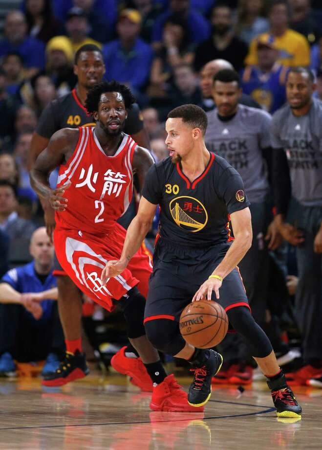 The Rockets said they want to make Steph Curry have to defend Pat Beverley, too. Photo: Ezra Shaw, Staff / 2016 Getty Images