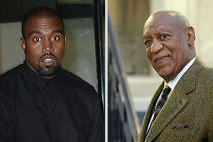 Kanye West declares Cosby innocent during Twitter rant - Photo