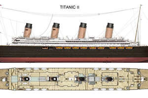 Poll: Would you set sail aboard the Titanic II? - Photo