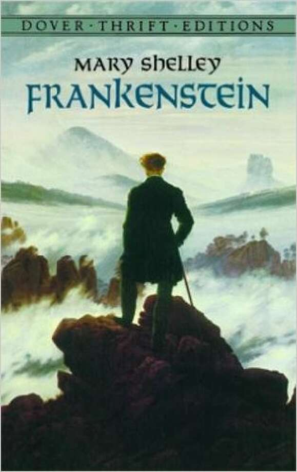 "The bookThe novel was published anonymously in 1818 as ""Frankenstein; or, The Modern Prometheus"" Photo: Photos From Amazon.com."