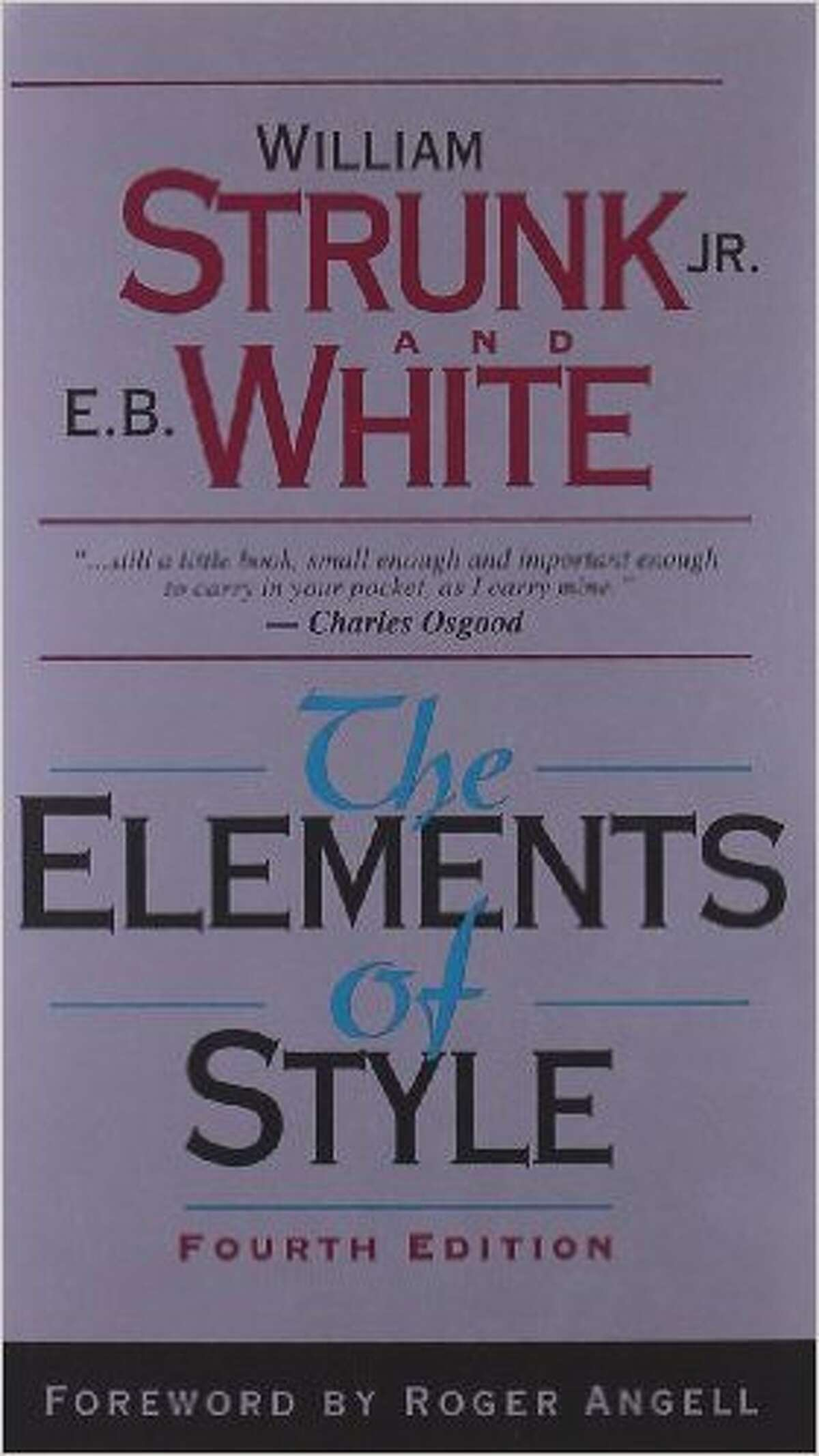 """No. 1 - """"The Elements of Style"""" Assigned 3,934 times"""