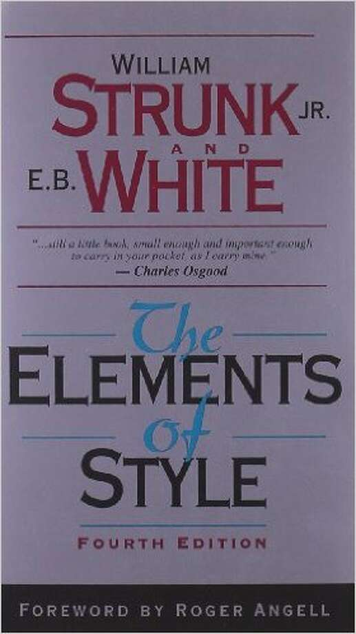 """No. 1 – """"The Elements of Style""""Assigned 3,934 times Photo: Photos From Amazon.com."""