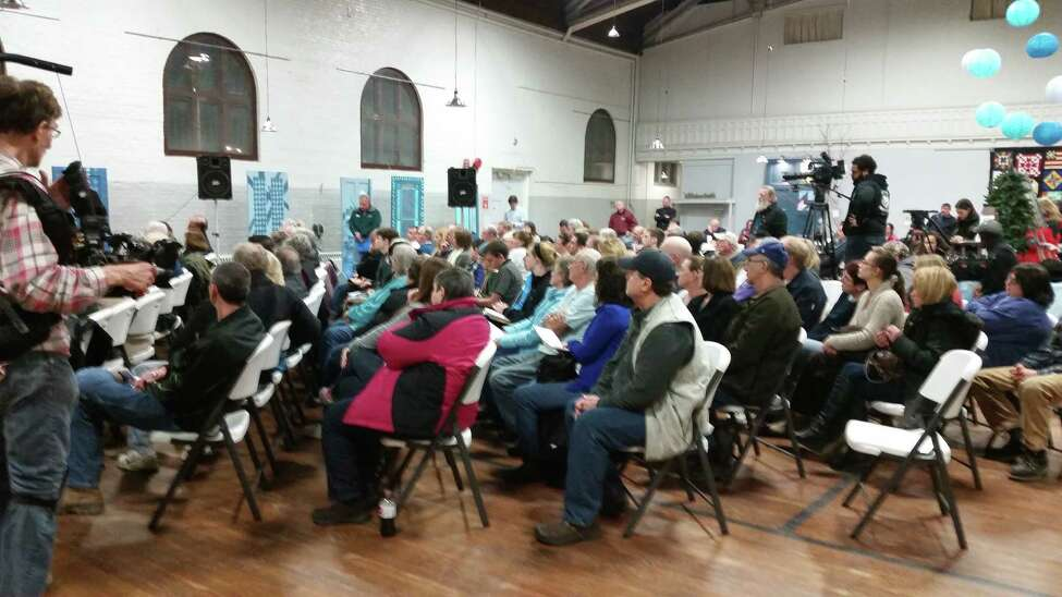 A string of rare cancer deaths in Hoosick Falls has residents concerned about their water supply. At a meeting on Tuesday, February 9, village mayor David Borge tried to reassure villagers that there is a plan in place to correct the problem, but anxious residents said it could be a while before their trust in government is restored. Click through the slideshow to view a timeline of the pollution's discovery and how the story has developed.