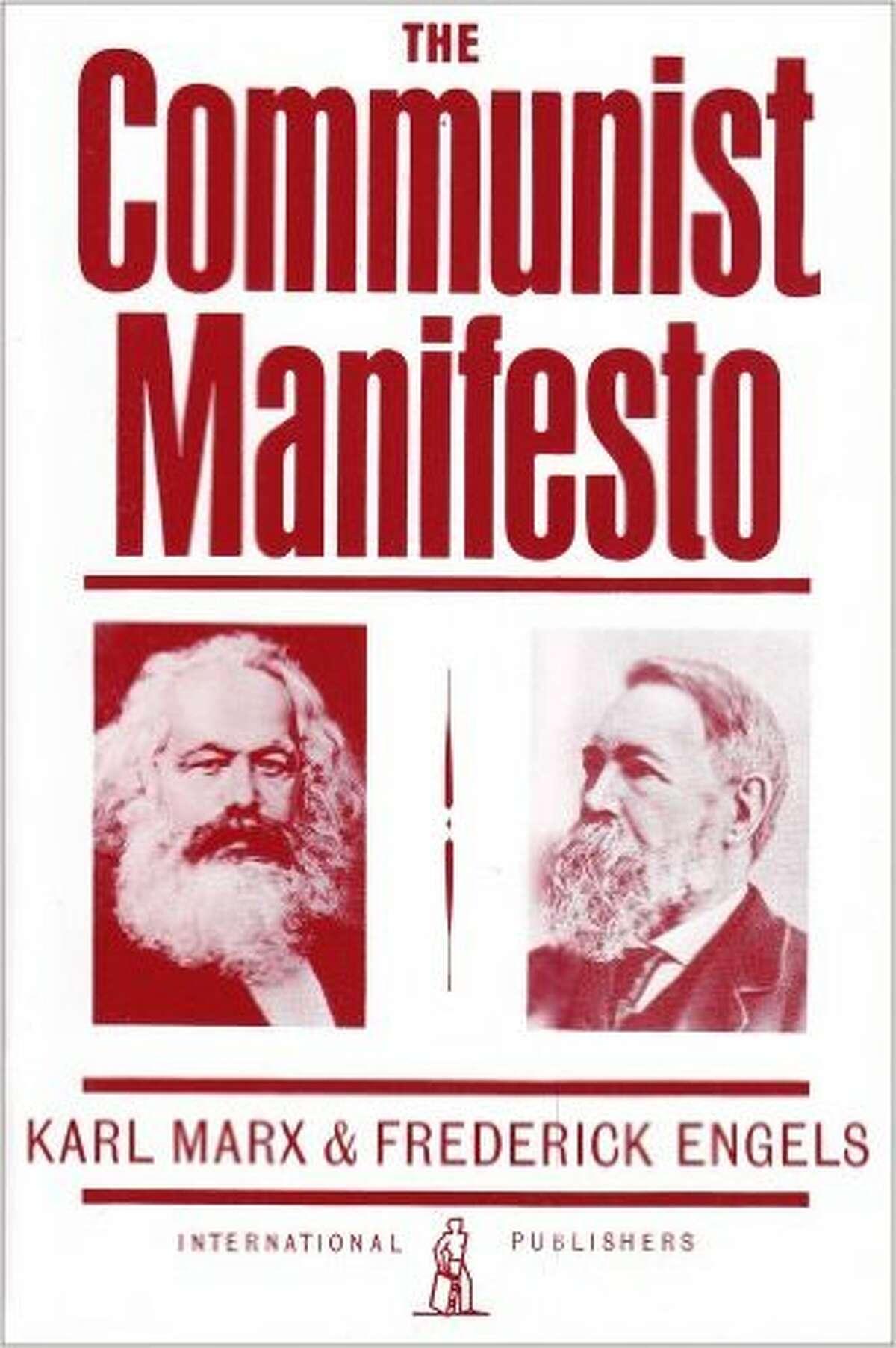 "No. 3 - ""The Communist Manifesto"" Assigned 3,189 times"