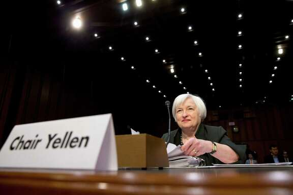 In testimony prepared for her appearance on Capitol Hill today, Federal Reserve Chair Janet Yellen declared it's too soon to tell whether sharp drops in stocks, oil prices and some bond yields represent passing volatility or reflect worsening global economic fundamentals that will dampen growth and inflation in the U.S.