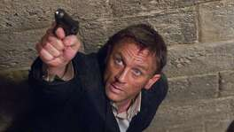 """James Bond 007, played by Daniel Craig, is filmed pursuing an MI6 traitor during a shoot at Pinewood Studios. Pinewood is undergoing a strategic review that could result in a sale of the parent company of the studio where """"Star Wars: The Force Awakens"""" and almost all James Bond movies were filmed."""