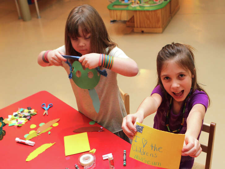 Children are invited to The Woodlands Children's Museum this weekend to create valentines for U.S. soldiers serving around the world.