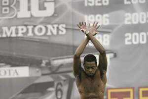 Campus Watch: Albany Academy grad soars for Minnesota diving - Photo
