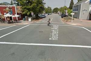 Driver plows into woman and baby in Novato crosswalk - Photo