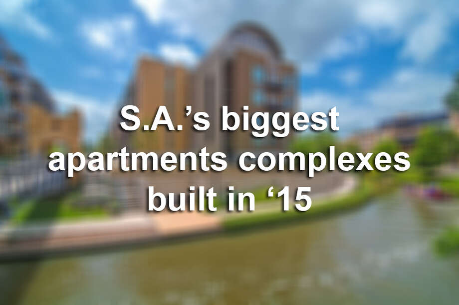 A new report from RENTCafé states that San Antonio saw 16 new apartment complexes in 2015, which made space for a total of 4,327 units.Here are the city's 10 biggest luxury apartments that opened in 2015, according to RENTCafé.