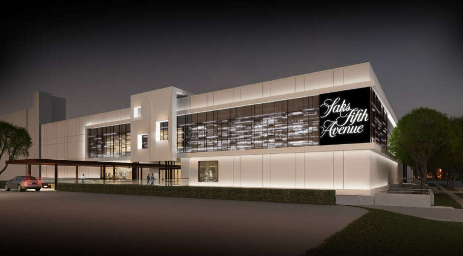 A rendering of the new Saks Fifth Avenue store in the Galleria Photo: Saks Fifth Avenue