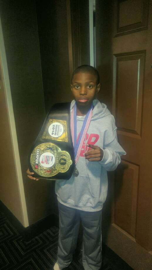 Shamar Canal, a 13-year-old Albany resident and Christian Brothers Academy student, won a national champion at the prestigious Silver Gloves event in Missouri this past weekend. (Provided photo)