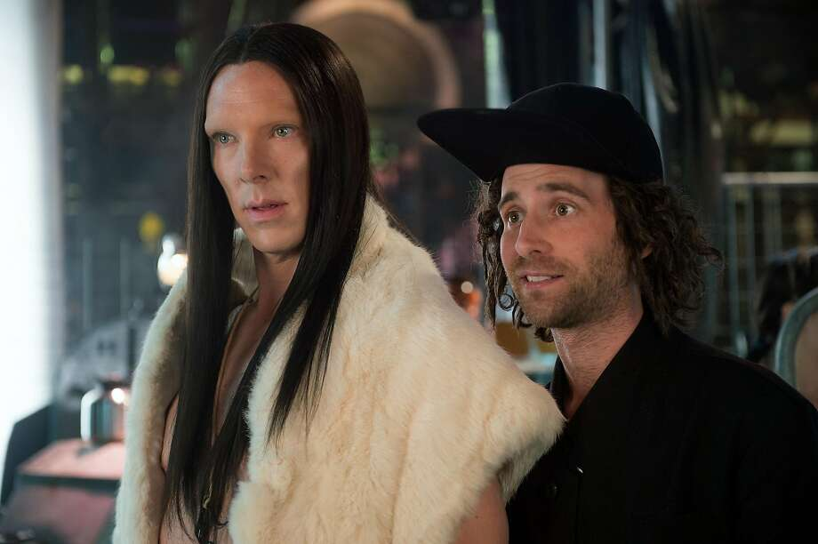"In this image released by Paramount Pictures, Benedict Cumberbatch portrays All, left, and Kyle Mooney portrays Don Atari in a scene from, ""Zoolander 2."" (Wilson Webb/Paramount Pictures via AP) Photo: Wilson Webb, Associated Press"