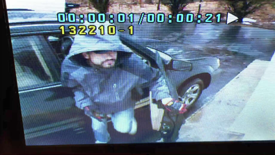 New Canaan police released an image of a burglary suspect after two forced-entry burglaries and a third attempted burglary on Birchwood Avenue were reported earlier this month. Photo: Contributed / Contributed Photo / New Canaan News