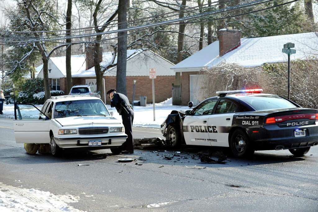 Driver 97 Injured In Collision With Saratoga Springs Cop Car