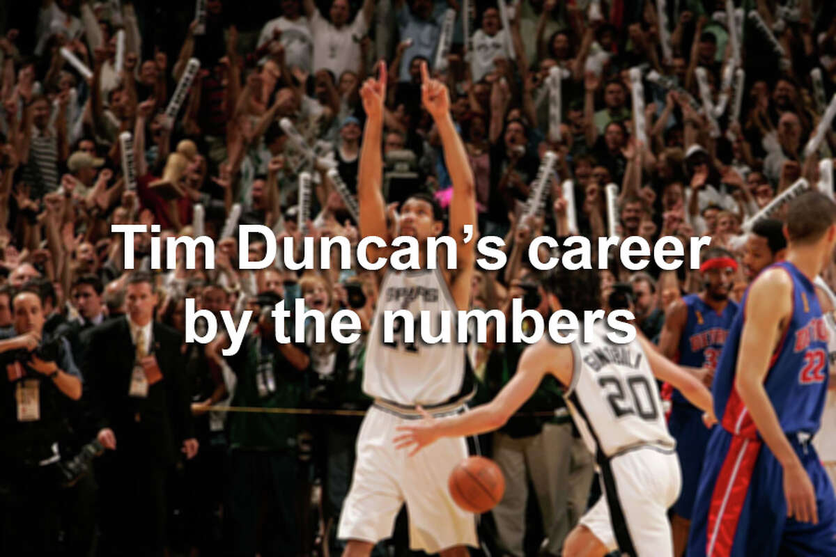Here are the numbers that back up Tim Duncan's status as one of the best players in the NBA ever to play the game and why he is a sure lock for the Hall of Fame.