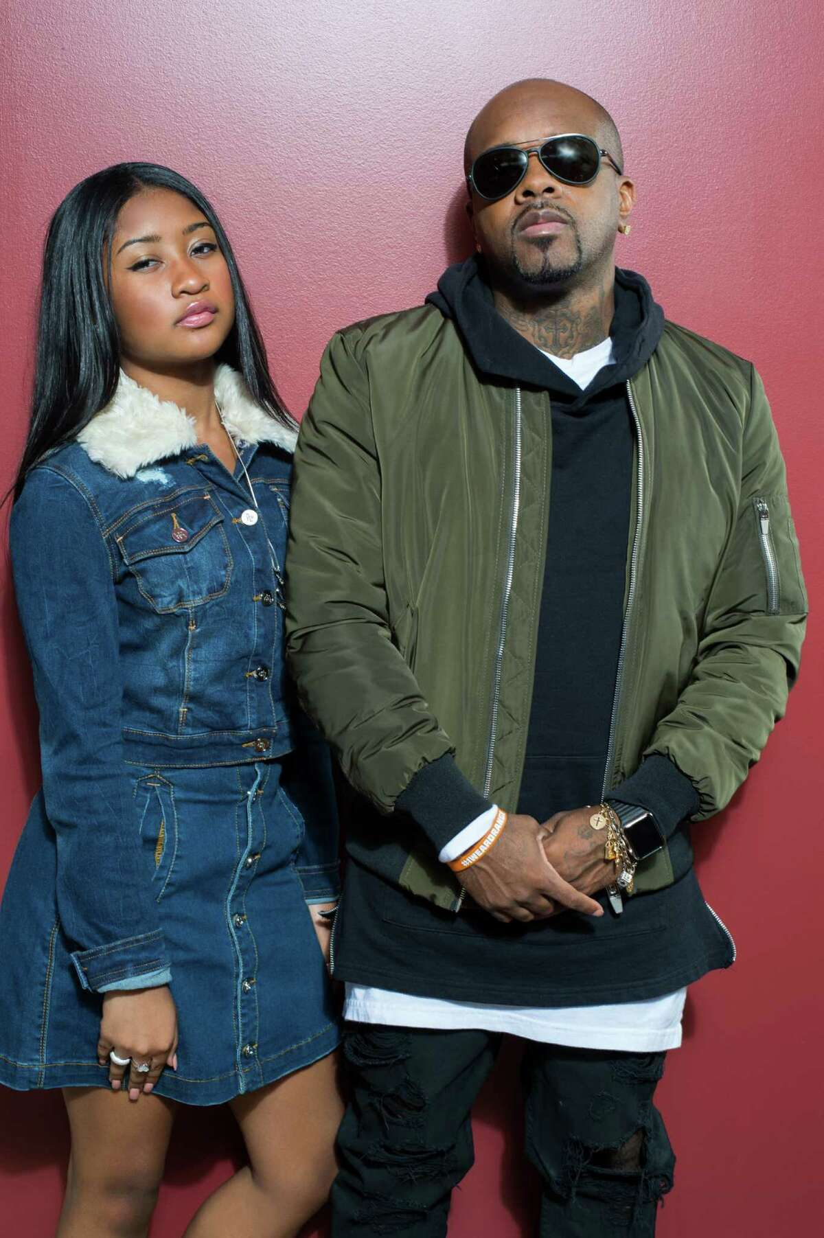 Young Lyric and Jermaine Dupri star in Lifetimeís all-new unscripted series, The Rap Game.