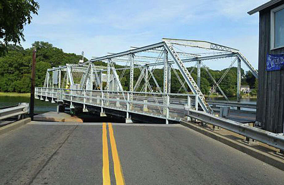 The town's Historic District Commission has endorsed a proposal that the Saugatuck swing bridge and nearby area be designated a National Historic Register District. Photo: Westport News / File Photo / Westport News