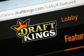 CHICAGO, IL - OCTOBER 16:  The fantasy sports website DraftKings is shown on October 16, 2015 in Chicago, Illinois. DraftKings and its rival FanDuel have been under scrutiny after accusations surfaced of employees participating in the contests with insider information. An employee recently finished second in a contest on FanDuel, winning $350,000. Nevada recently banned the sites.  (Photo illustration by Scott Olson/Getty Images)