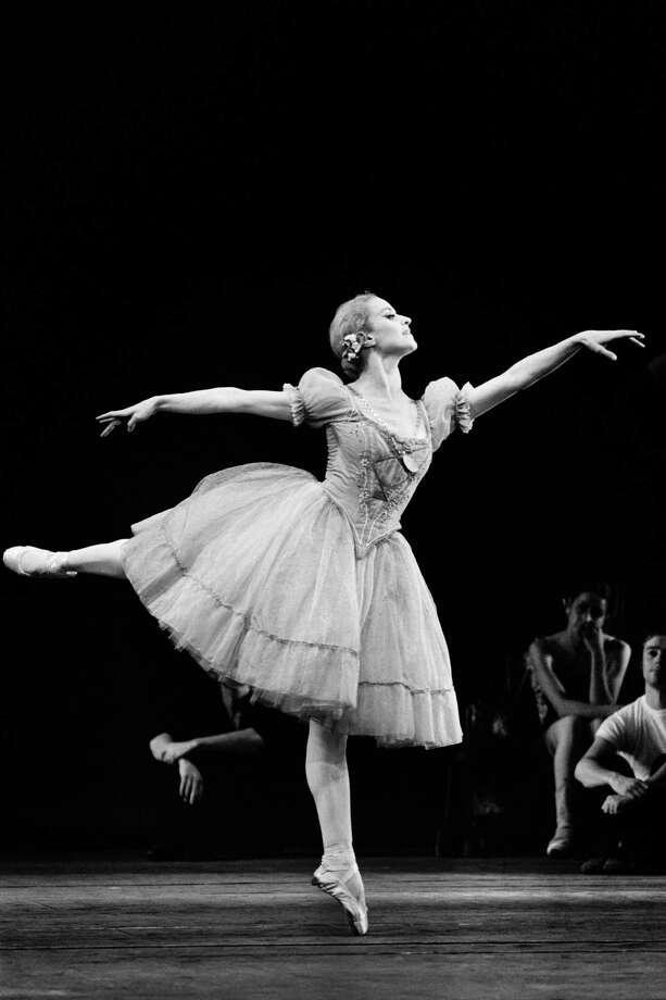 """French ballerina Violette Verdy performs in """"Giselle"""" in Paris on October 27, 1972. Violette Verdy, dancer, choreographer and former director of the Opera de Paris and other world-class companies, died in the United States on February 8, 2016 at the age of 82. / AFP / STRINGERSTRINGER/AFP/Getty Images Photo: STRINGER, Stringer / AFP / Getty Images / AFP or licensors"""