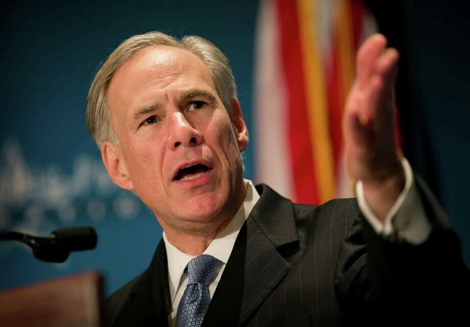 FILE: Gov. Greg Abbott calls for a convention of states to amend the Constitution during a speech at the Texas Public Policy Foundation in Austin, Texas, on Friday Jan. 8, 2016. Abbott called on Texas Friday to take the lead in pushing for constitutional amendments that would give states power to ignore federal laws and override decisions by the U.S. Supreme Court. Photo: Jay Janner /Austin American-Statesman Via AP / Austin American-Statesman