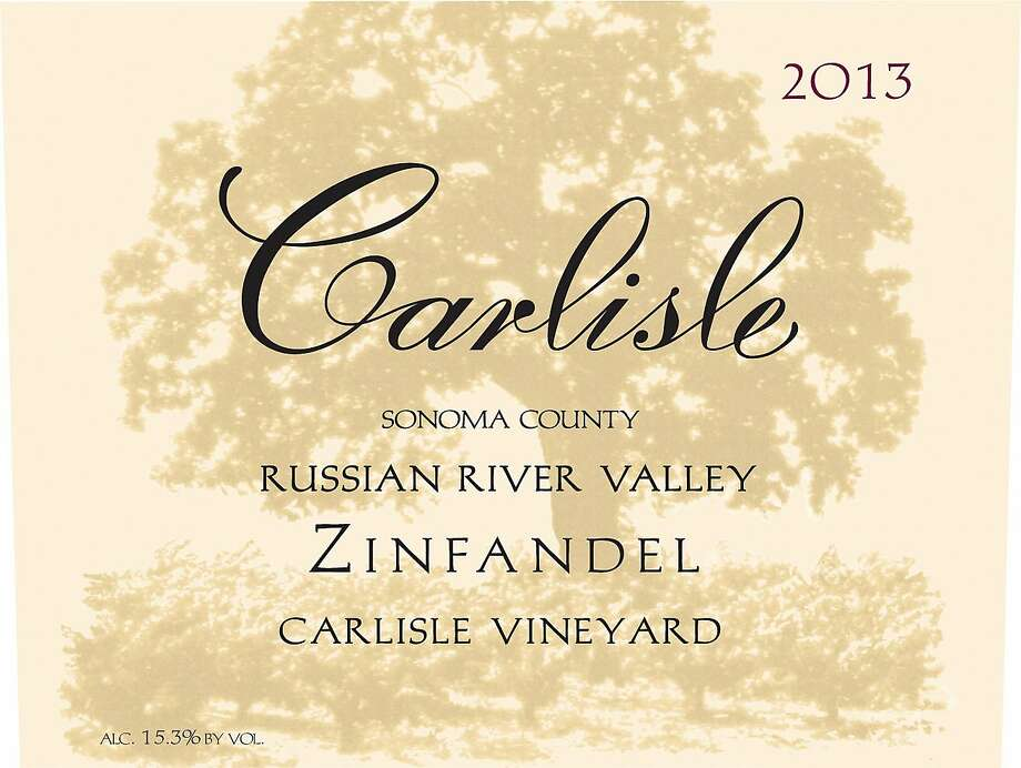 Carlisle Zinfandel Carlisle Vineyard Russian River Valley 2013
