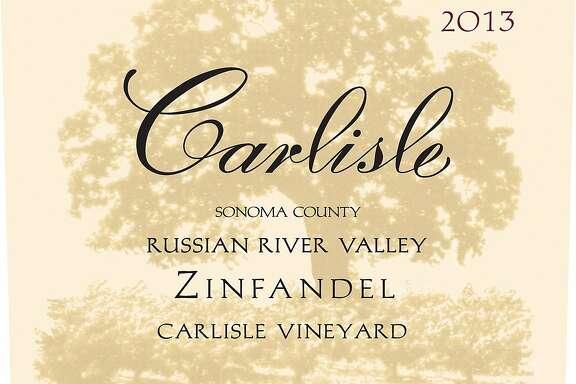 Carlisle Zinfandel Carlisle Vineyard Russian River Valley 2013