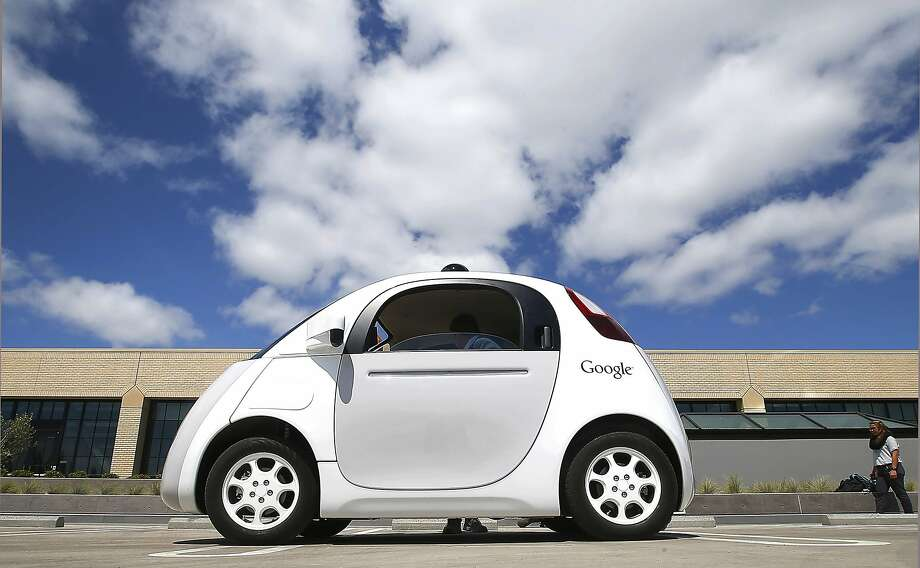 The ruling could be a big break for makers of cars like this one from Google. Photo: Tony Avelar, Associated Press