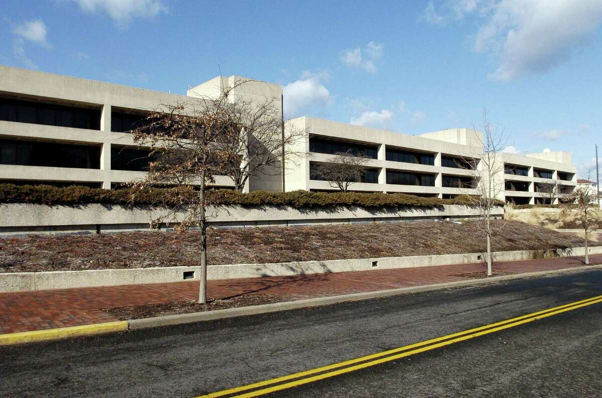 In 2015, new tenants cut the available space at 600 Steamboat Road in Greenwich, Conn. by about half, according to a year-end study of major Greenwich office buildings by Choyce Peterson.