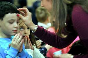 St. Gregory the Great Catholic School marks Ash Wednesday - Photo