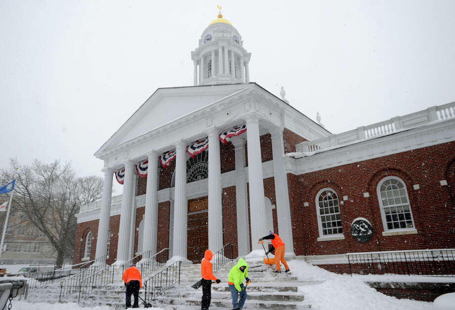 Milford will celebrate the 100th birthday of City Hall on Friday, Feb. 19, 2016, from 5:30 to 8:30 p.m. Photo: Brian A. Pounds / Brian A. Pounds / Connecticut Post