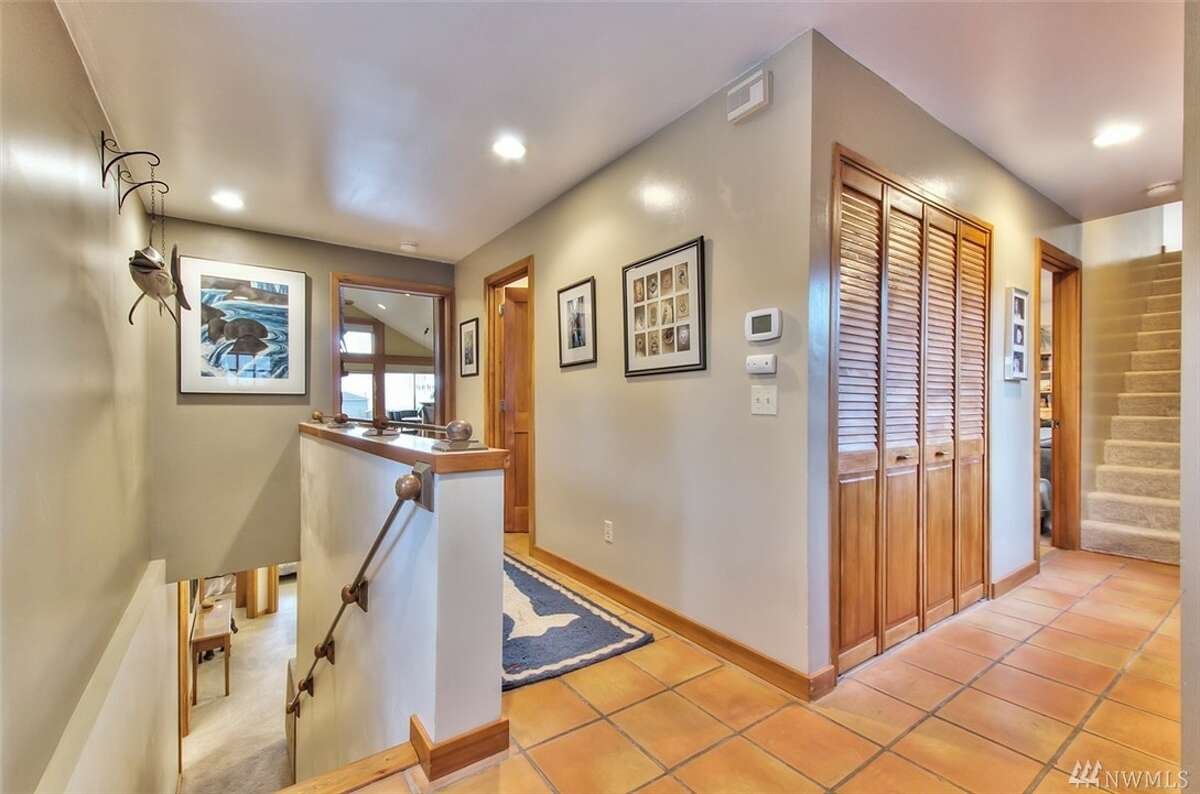 The entryway of 6762 38th Ave. S.W. The home spans 2,280 square feet.