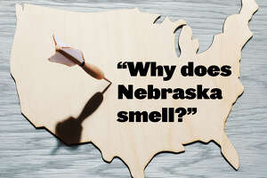 Map captures tough questions about each state - Photo
