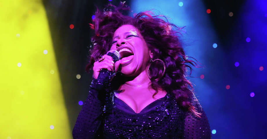 "R&B singer Chaka Khan returns to Oakland to perform at KBLX's ""Legends of Love"" concert on Valentine's Day. / 2014 Getty Images"