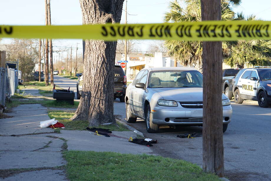 A man is in critical condition after he was reportedly shot in his home in the 400 block of Cactus Street Feb. 10, 2016. Jacob Beltran Photo: Jacob Beltran