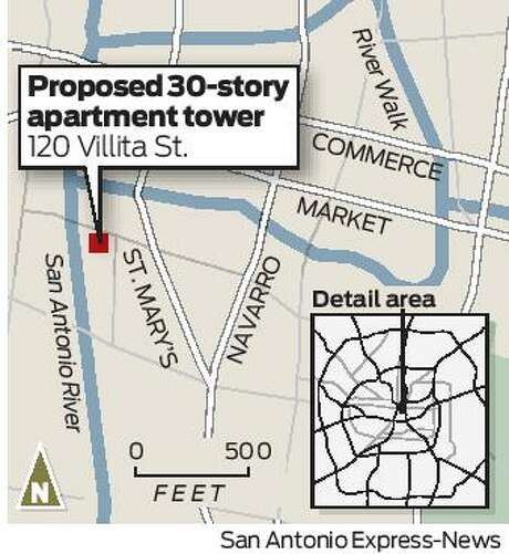 30-story apartment tower planned downtown, boosting redevelopment ...