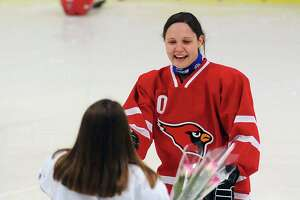 Greenwich shuts out Stamford-Westhill-Staples in girls hockey - Photo