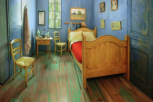 People in the news: Live like you're van Gogh for a night - Photo
