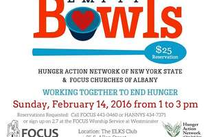 Empty Bowls February 14 – working to end hunger - Photo