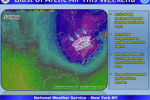 Blast of Arctic air takes aim at CT - Photo