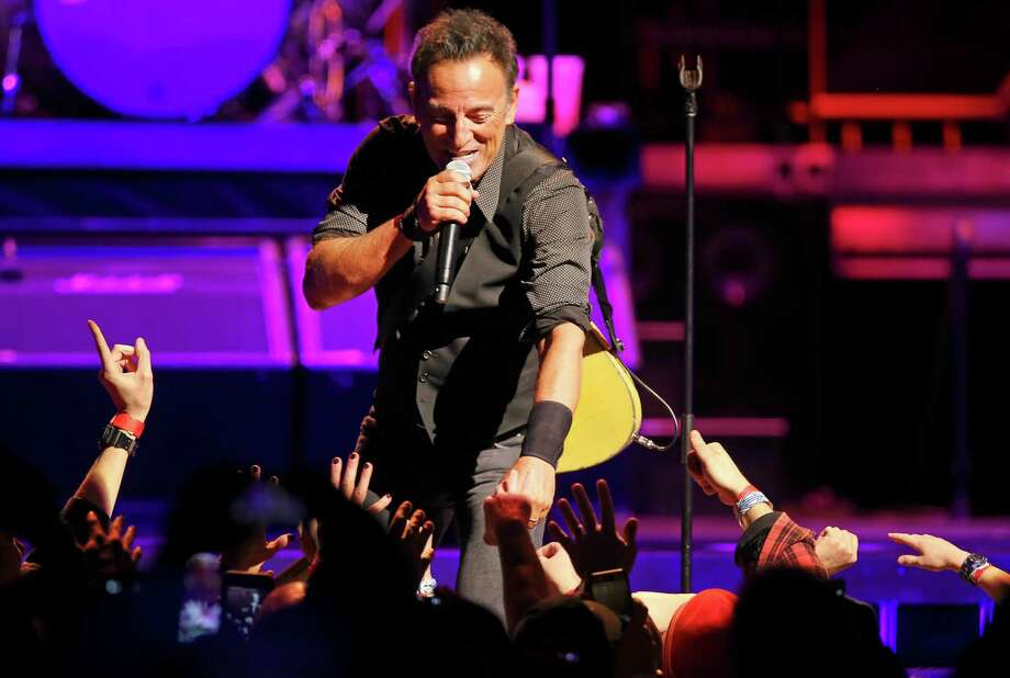 Bruce Springsteen and the E Street Band perform during their River Tour show at the United Center in Chicago on Tuesday, Jan. 19, 2016. (Nuccio DiNuzzo/Chicago Tribune/TNS) Photo: Nuccio DiNuzzo / McClatchy-Tribune News Service / Chicago Tribune