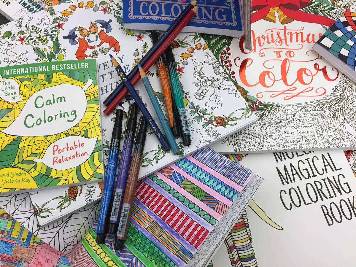 Coloring books: Educators now use coloring books to teach such diverse subjects as history, geography, and even geometry. Though often thought of as a children's activity, more complex coloring books aimed at adults became increasingly popular in the 2000s.