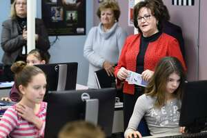 Education Commissioner Maryellen Elia visits North Country schools - Photo