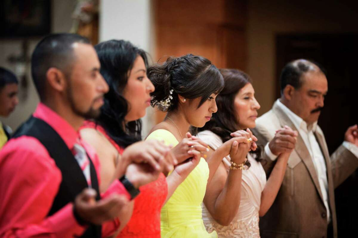 2. But her parents and godparents are also celebrated during the party: During a mass, called the